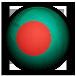 bangladesh, flag, of icon