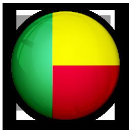 benin, flag, of icon