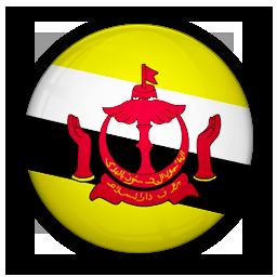 brunei, flag, of icon