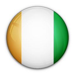 cote, divoire, flag, of icon