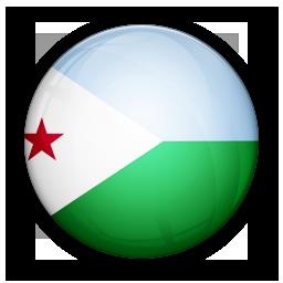 djibouti, flag, of icon