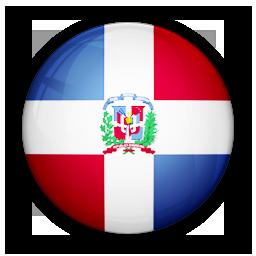 dominican, flag, of, republic icon