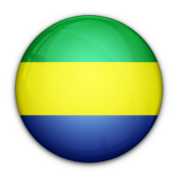 flag, gabon, of icon