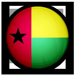 blissau, flag, guinea, of icon