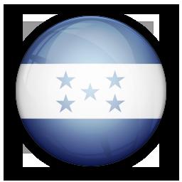 flag, honduras, of icon
