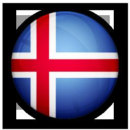 flag, iceland, of icon