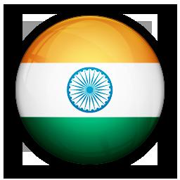 flag, india, of icon