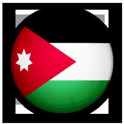 flag, jordan, of icon