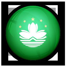 flag, macau, of icon
