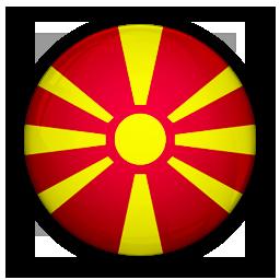 flag, macedonia, of icon
