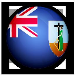 flag, montserrat, of icon