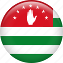 abkhazia, country, flag, nation icon