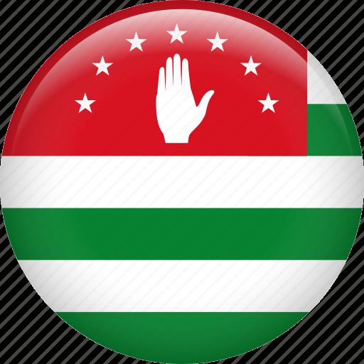 abkhazia, country, flag, nation icon