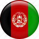 afghanistan, country, flag, nation icon