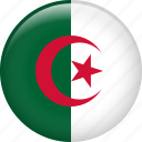 algeria, country, flag, nation