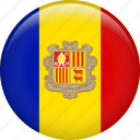 andorra, country, flag, nation