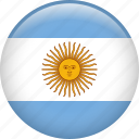 argentina, country, flag, nation