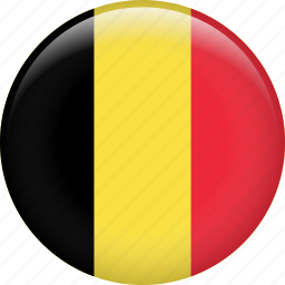 belgium, country, flag, nation icon