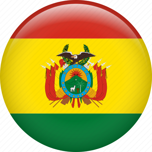 bolivia, country, flag, nation icon