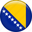 bosnia and herzegovina, country, flag, nation icon