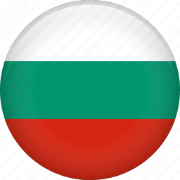 bulgaria, country, flag, nation icon