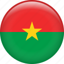 burkina faso, country, flag, nation icon