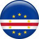 cape verde, country, flag, nation icon