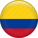 colombia, country, flag, nation