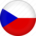 czech, flag, czech republic, national icon