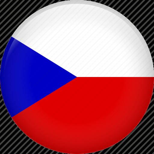 czech, czech republic, flag, national icon