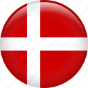denmark, country, flag, nation