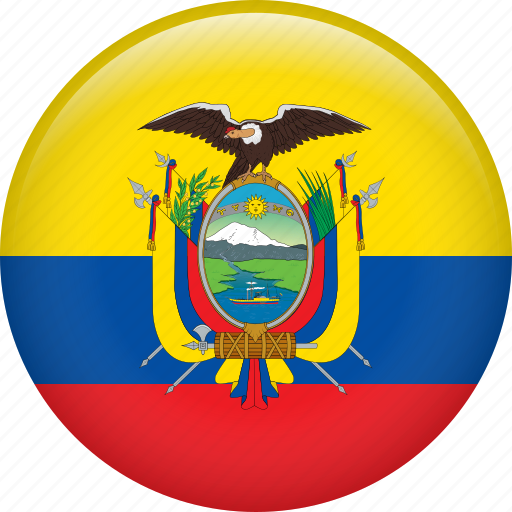 country, ecuador, flag, nation icon