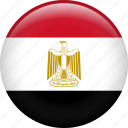 country, egypt, egyptian, flag, nation, pyramid icon