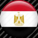country, egypt, egyptian, flag, nation, pyramid icon
