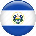 country, el salvador, flag, nation icon