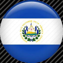 country, el salvador, flag, nation icon