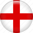 england, flag, kingdom, nation, uk icon