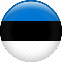 country, estonia, flag, nation icon