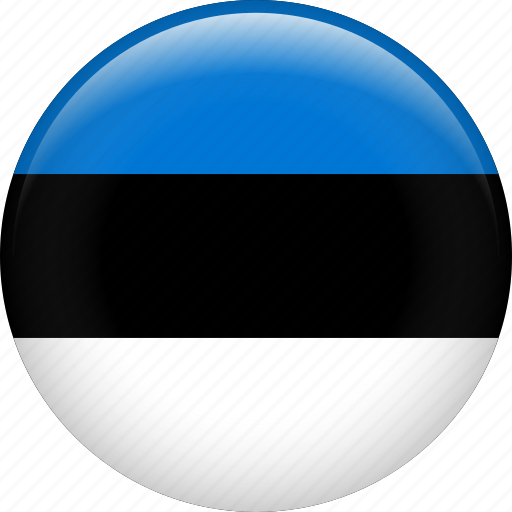 country, estonia, flag, nation icon