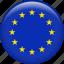 country, euro, europe, european, flag, national icon