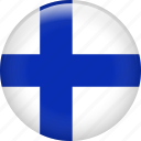 finland, country, flag, national
