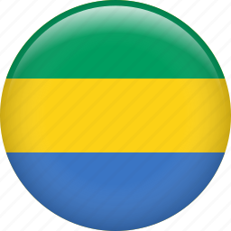 country, flag, gabon, nation icon