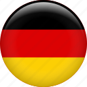 germany, country, flag, nation