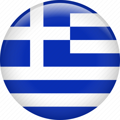 country, flag, greece, national icon