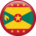 grenada, country, flag, nation