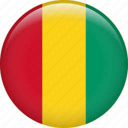 country, flag, guinea, nation icon