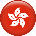 country, flag, hong kong, nation icon