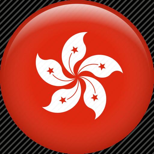 country, flag, hong kong, nation icon