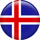iceland, country, flag, nation