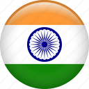 india, country, flag, nation